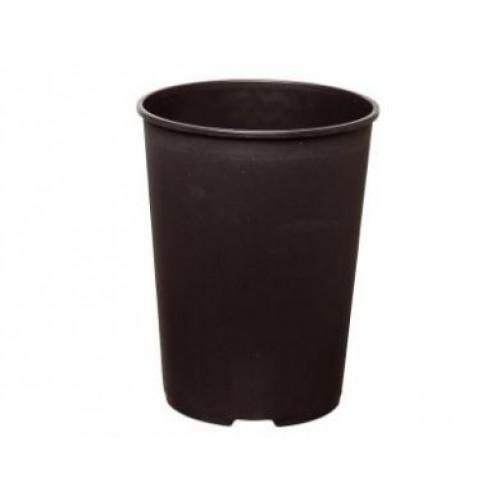 Deep Rose Plastic Plant Pots