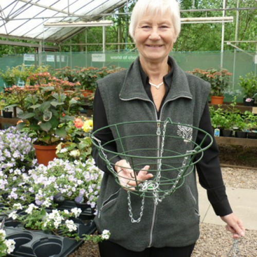 Wire  Hanging Baskets - 14 Inches