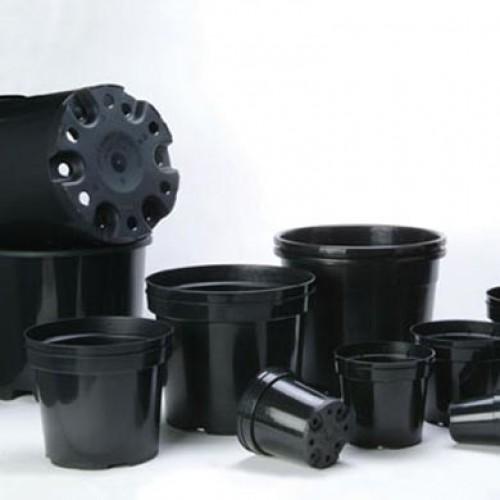 5 Litre Plastic Plant Pots Round