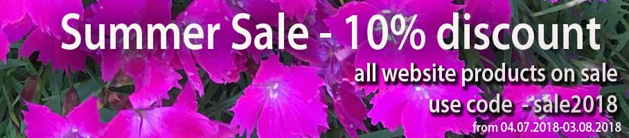 Big 10% Summer Sale On All Website Products!