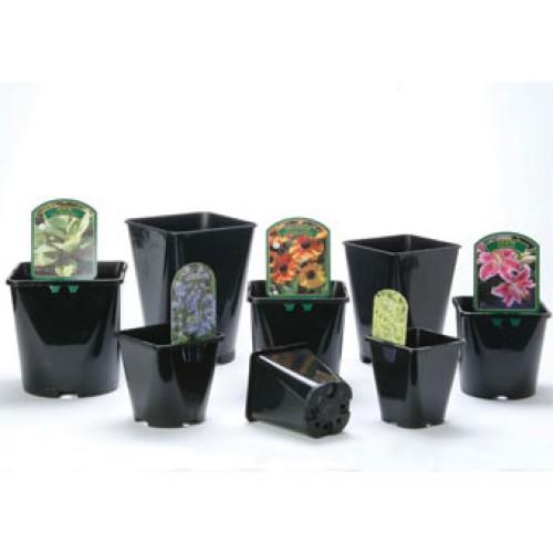 Square Plastic Plant Pots