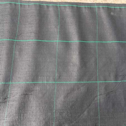 Heavy Duty Woven Weed Control Fabric 1M X 50M 100GSM